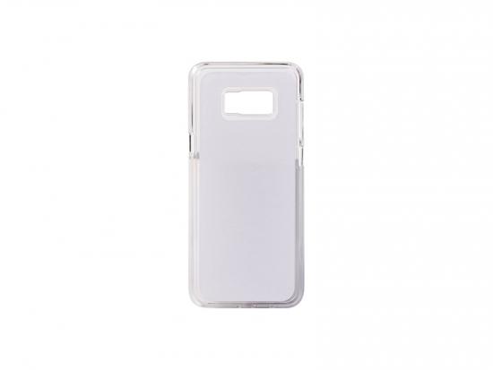 Samsung Galaxy S8 Plus áttetsző műanyag tok szublimáláshoz, préseléshez