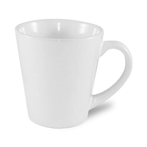 Kis JS Coating latte bögre, fehér, szublimáláshoz, préseléshez