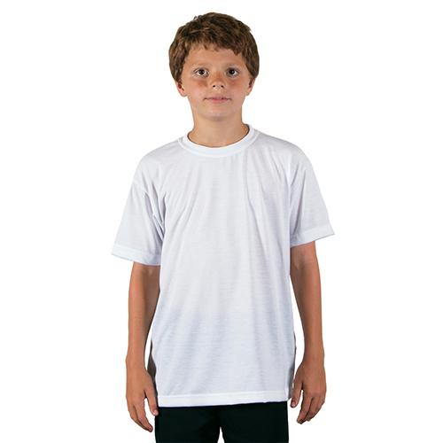 Szublimálható Gyerek póló - fehér - 116