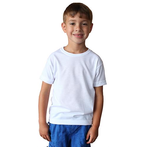 Szublimálható Gyerek póló - fehér - 3T