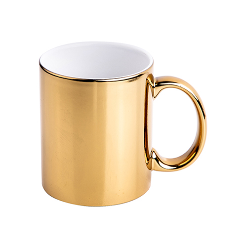 Szublimálható 330 ml-es bögre - arany