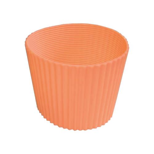 Gumi szalag ECO termosz bögréhez - narancssárga