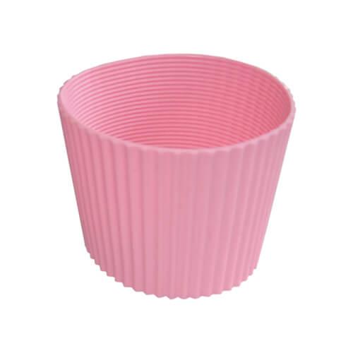 Gumi szalag ECO termosz bögréhez - rózsaszín