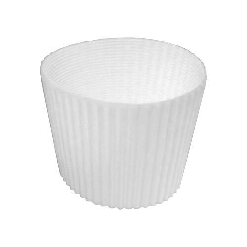 Gumi szalag ECO termosz bögréhez - fehér