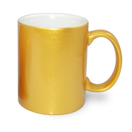 330 ml-es fémes arany bögre szublimáláshoz, préseléshez