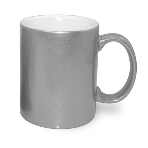 330 ml-es fémes ezüst bögre, szublimáláshoz, préseléshez