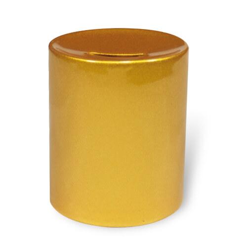 Arany színű persely szublimáláshoz, préseléshez
