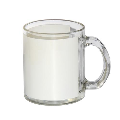 Szublimálható üveg pohár 330ml