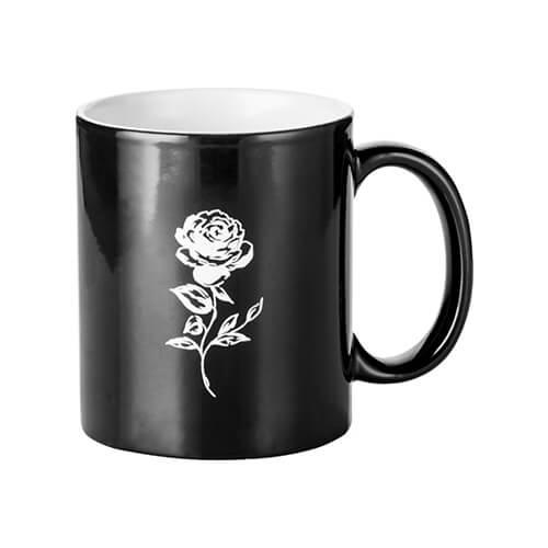 Varászbögre rózsa gravírozással