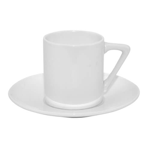 85 ml-es csésze csészealjjal, szublimáláshoz