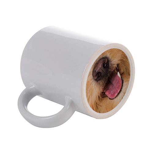 Szublimálható 330 ml-es bögre az aljára nyomtatott kutya nyelvvel