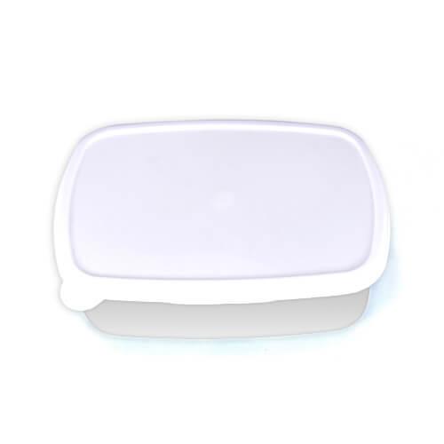 18 x 13 cm-es fehér műanyag doboz szublimáláshoz, préseléshez