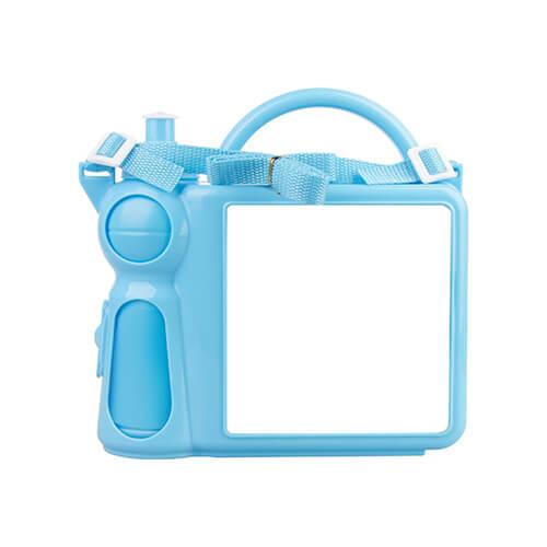 Szublimációs uzsonnás doboz gyerekeknek - kék
