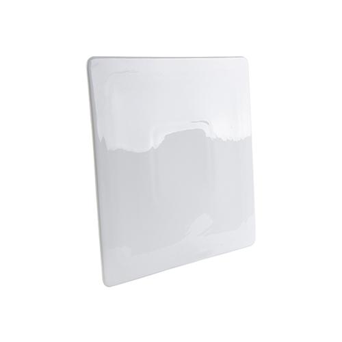 Szublimálható 22,5 x 22,5 cm lapos, négyzet tányér