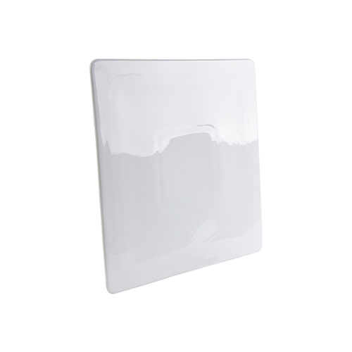 Szublimálható 24,5 x 24,5 cm lapos, négyzet tányér