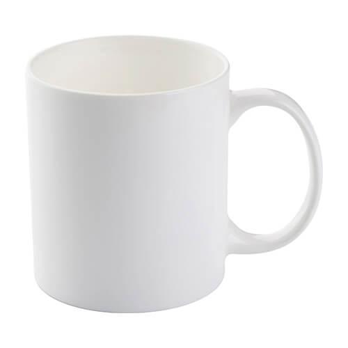 Szublimálható porcelán 330 ml-es fehér bögre