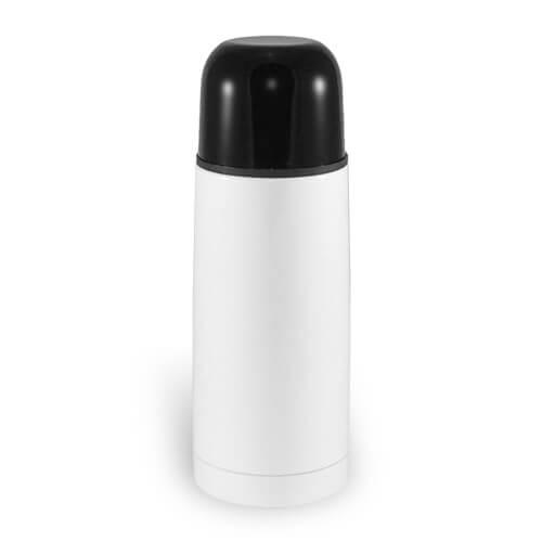 350 ml-es fehér fémtermosz szublimáláshoz, préseléshez
