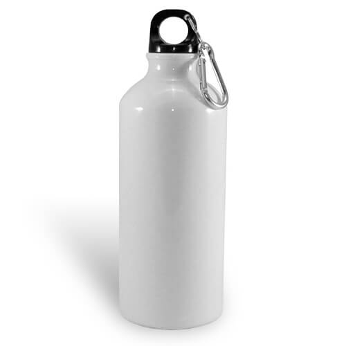 600 ml-es, fehér színű turista kulacs szublimáláshoz, préseléshez