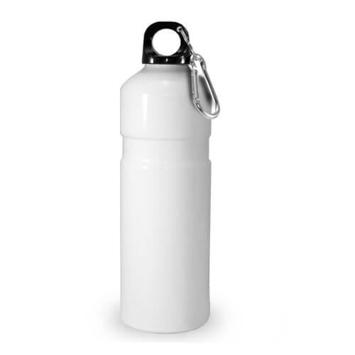 750 ml-es, fehér színű turista kulacs szublimáláshoz, préseléshez