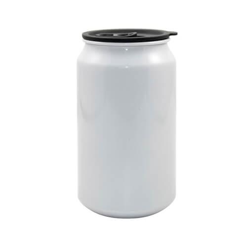 500 ml-es, sörösdoboz alakú, fehér turista kulacs szublimáláshoz, préseléshez