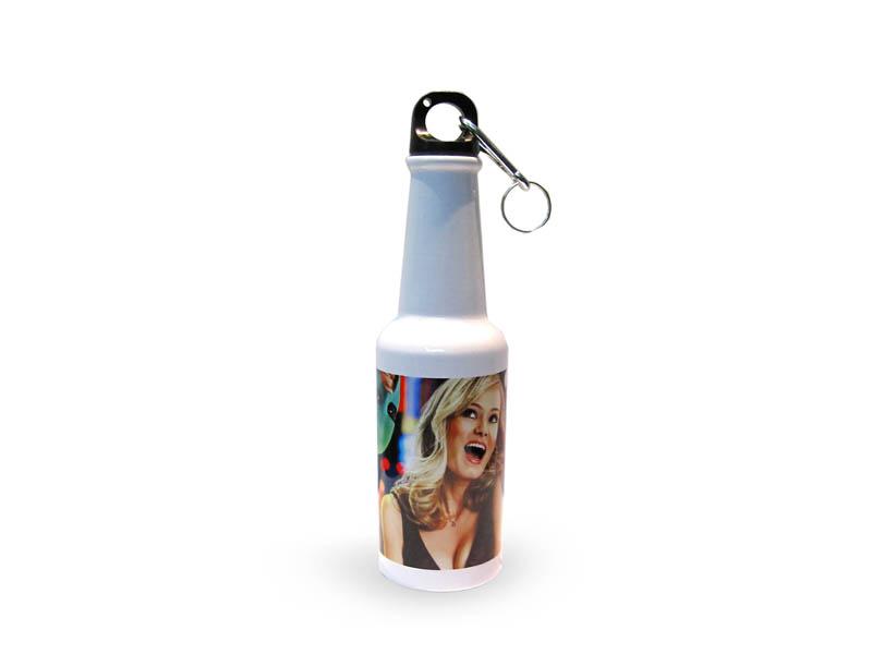 400 ml-es, palack alakú, fehér turista kulacs szublimáláshoz, préseléshez