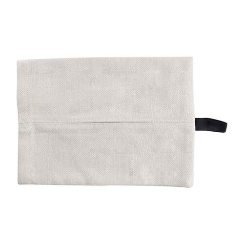 24 x 18 cm-es vászon zsebkendőtartó szublimáláshoz, préseléshez