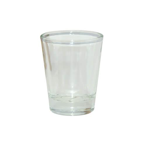 45 ml-es áttetsző üvegpohár szublimáláshoz, préseléshez