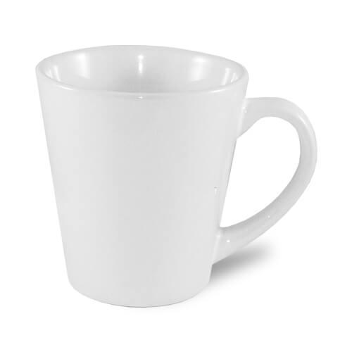 Kis latte bögre, A+, fehér, szublimáláshoz, préseléshez