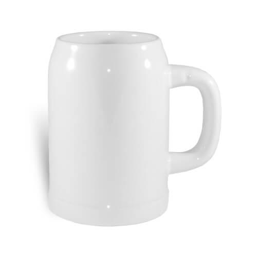 Hordó alakú sörös korsó szublimáláshoz, préseléshez