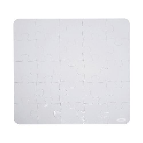 16 x 16 cm-es, 25 darabos műanyag puzzle szublimáláshoz, préseléshez