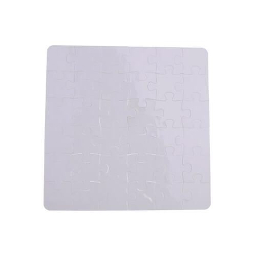 19,5 x 19,5 cm-es, 36 darabos műanyag puzzle szublimáláshoz, préseléshez