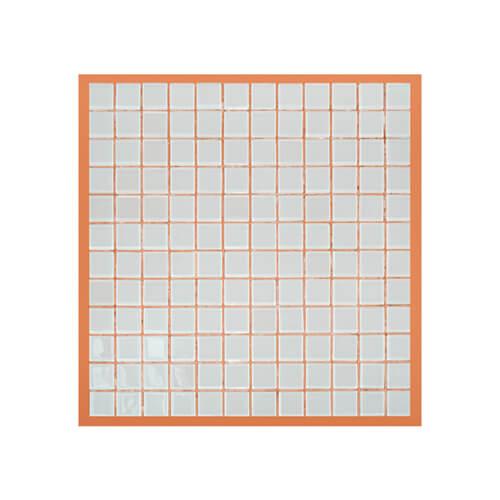 33 x 33 cm-es üveg mozaik - 144 darabos, szublimáláshoz, préseléshez