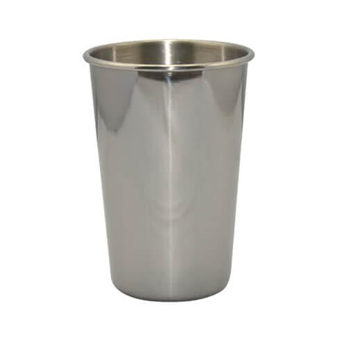 Rozsdamentes acél termobögre, ezüst, szublimáláshoz , préseléshez