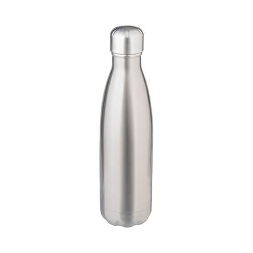 480 ml-es kulacs szublimációs nyomtatáshoz - ezüst színű