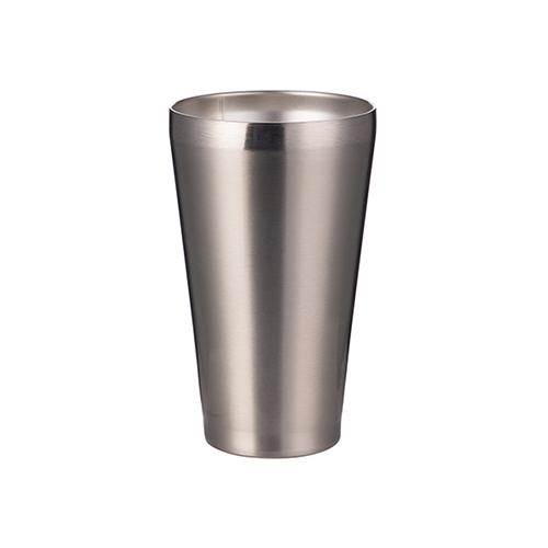 Szublimálható termosz 450 ml rozsdamentes acél, fedetlen bögre - ezüst