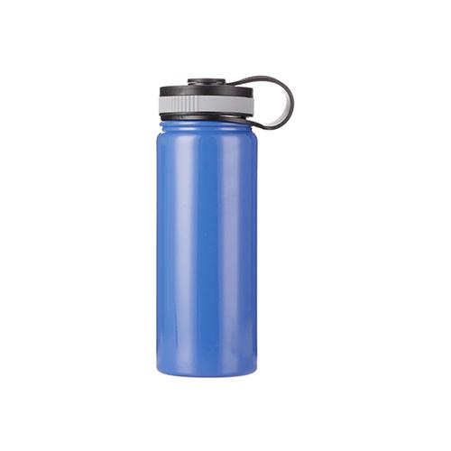 Szublimálható 550 ml rozsdamentes acél termosz - kék