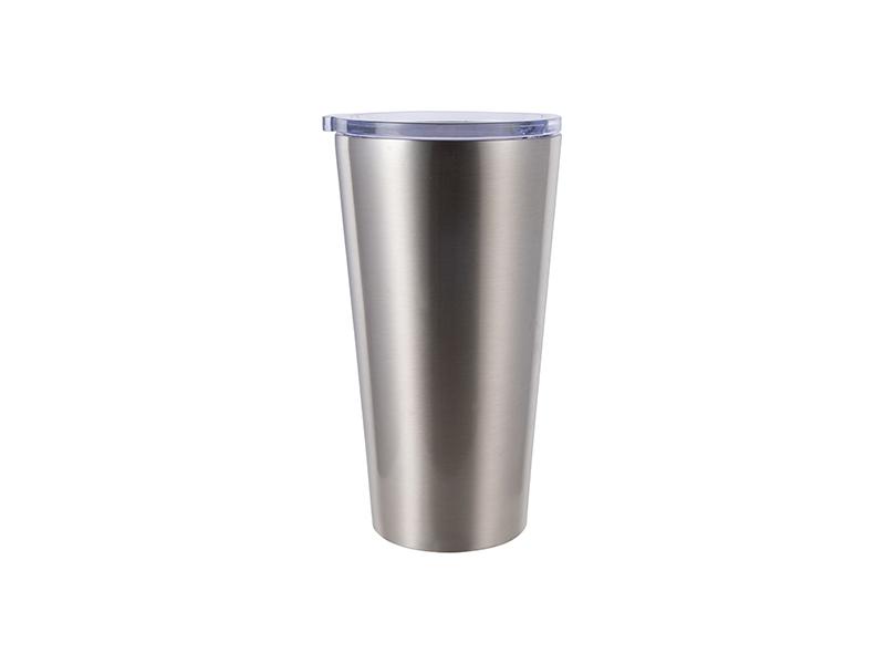 Szublimálható termosz bögre 480 ml - ezüst