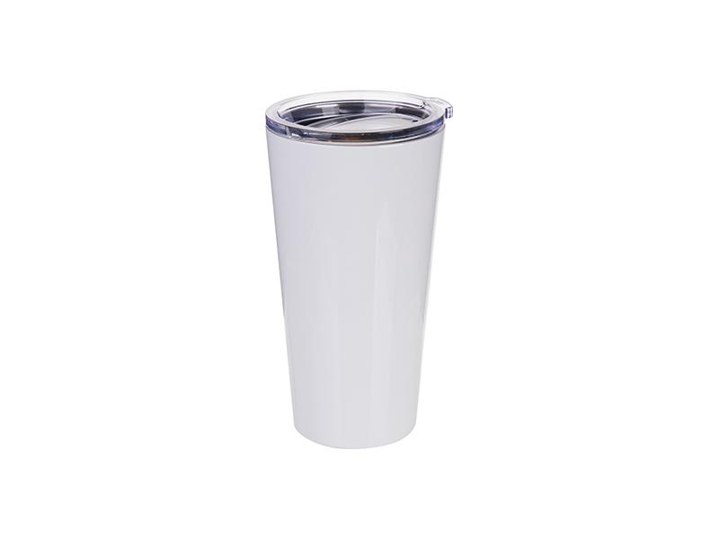 Szublimálható termosz bögre 480 ml - fehér