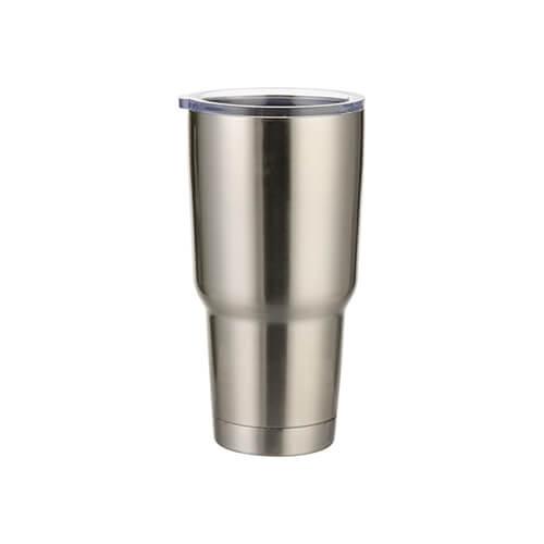 900 ml-es termoszbögre szublimáláshoz - ezüst