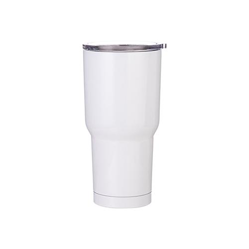 Szublimálható termosz bögre 850 ml - fehér