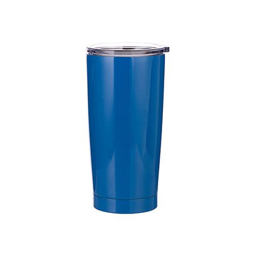 Szublimálható termosz bögre 550 ml - kék