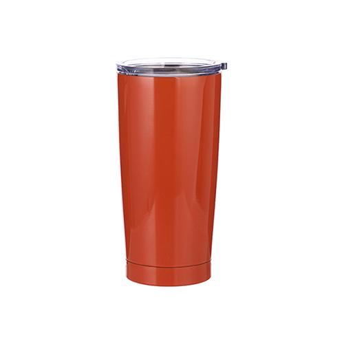 Szublimálható termosz bögre 550 ml - narancs