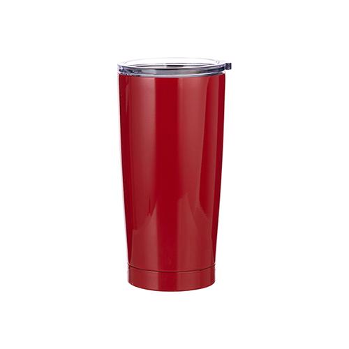 Szublimálható termosz bögre 550 ml - piros