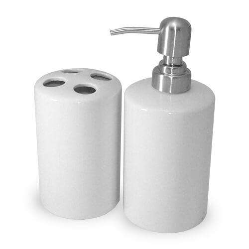 Kétrészes fürdőszobai szett szublimáláshoz, préseléshez