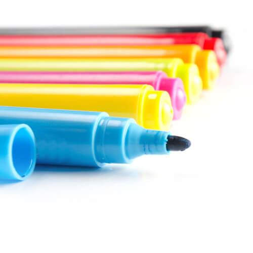 Marker tollak kerámiákhoz - 7 színben