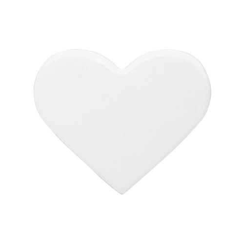 Szublimálható kerámia alátét - szív