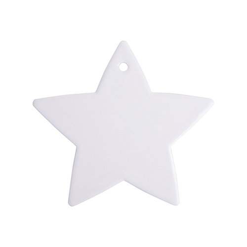 Szublimálható kerámia alátét - 5 águ csillag