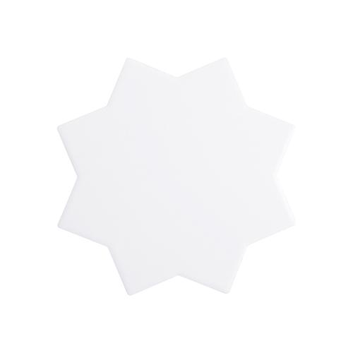 Szublimálható kerámia alátét - 8 águ csillag