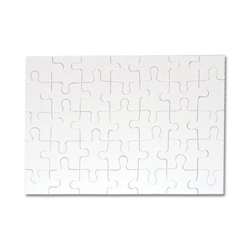 30 x 20 cm-es, 35 darabos puzzle szublimáláshoz, préseléshez