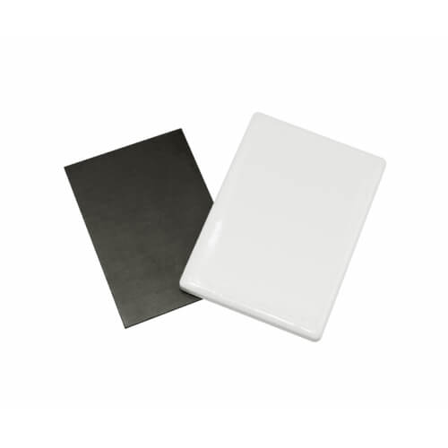 5 x 7 cm-es kerámia hűtőmágnes szublimáláshoz, préseléshez